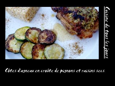 Cotes-d-agneau-en-croute-de-pignons-et-raisins-secs
