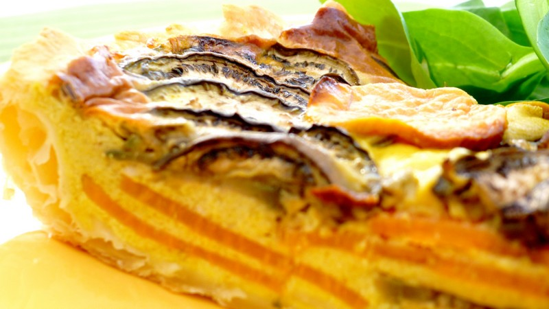 tarte exotique