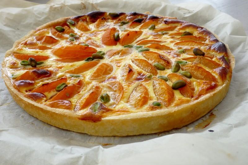 tarte 224 la cannelle et aux abricots cuisine de tous les jours