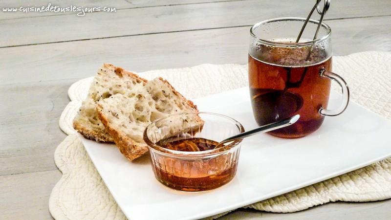 Gelée de coings au thé et bergamote