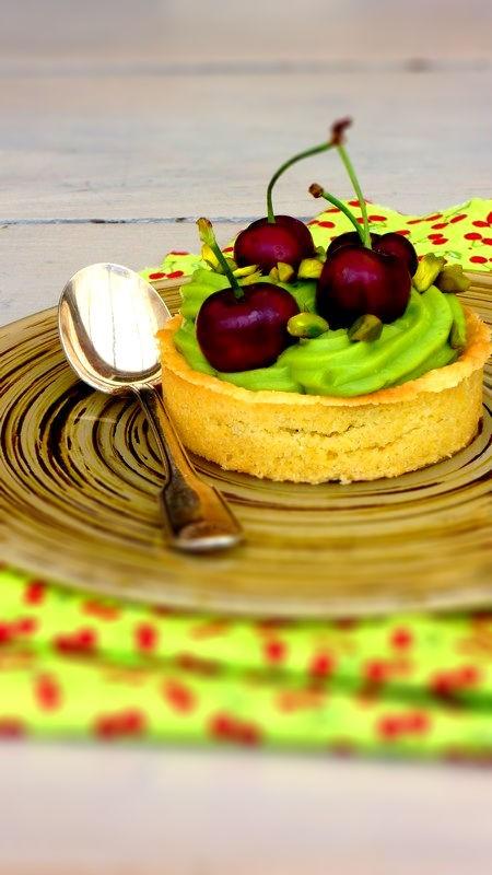 tartelette cerises pistache 2-tiltshift