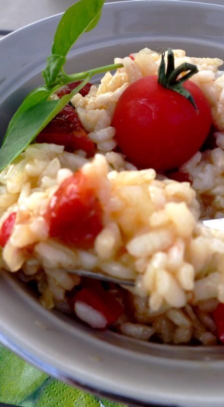 Risotto aux tomates s ch es poivron et pecorino cuisine - Cuisine de tous les jours ...