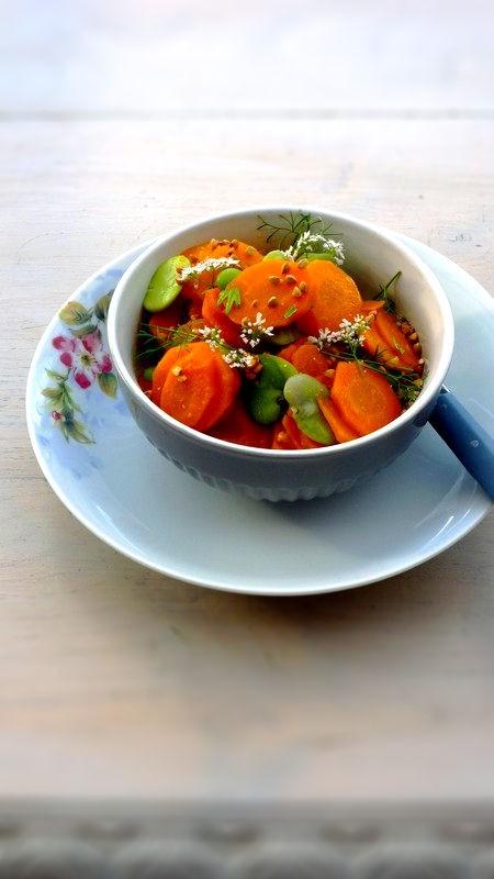 salade de carottes f 232 ves kasha au cumin et 224 la coriandre cuisine de tous les jours