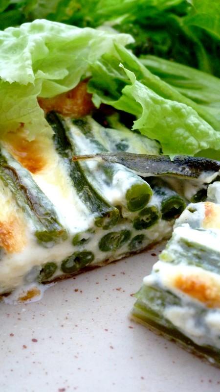 Tarte de haricots verts la sauge cuisine de tous les jours - Cuisine de tous les jours ...