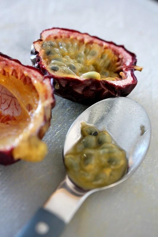 Saumon au fruit de la passion en cro te la tonka - Cuisine de tous les jours ...