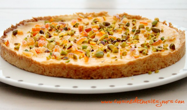Tarte à l'orange sanguine_une