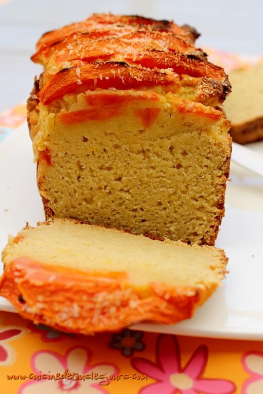 Cake à la farine de noix de coco et papaye 4