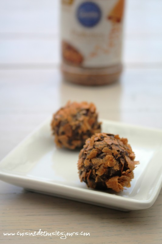 Bouchées de poire, chocolat et Gavottes
