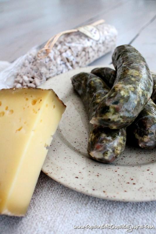 Pormoniers et gratin de crozets - Cuisine de tous les jours
