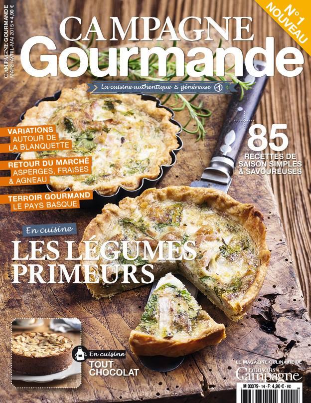 campagne gourmande nouveau magazine culinaire cuisine de tous les jours. Black Bedroom Furniture Sets. Home Design Ideas