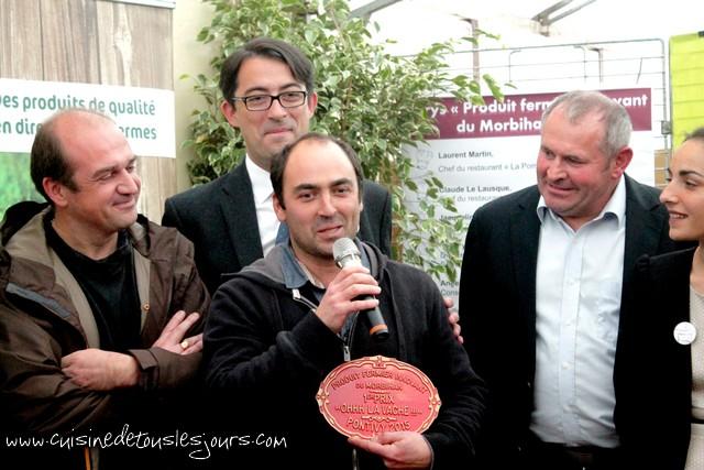 1er prix Ohhh La Vache ! 2015 - Le pain d'épices aux figues produit par l'Abeille de Lanvaux - Saint-Jean-Brévelay