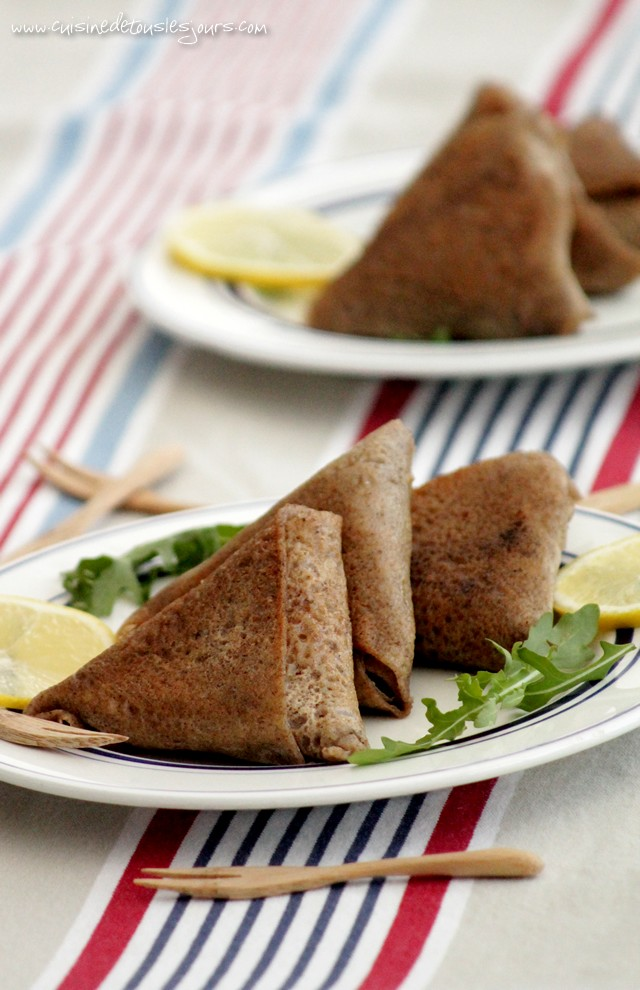 ©www.cuisinedetouslesjours.com - Breizh Samoussas au lieu noir et wakamé