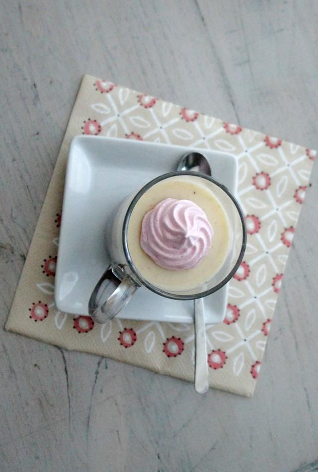 ©www.cuisinedetouslesjours.com - Petits Entremets de Crème Anglaise