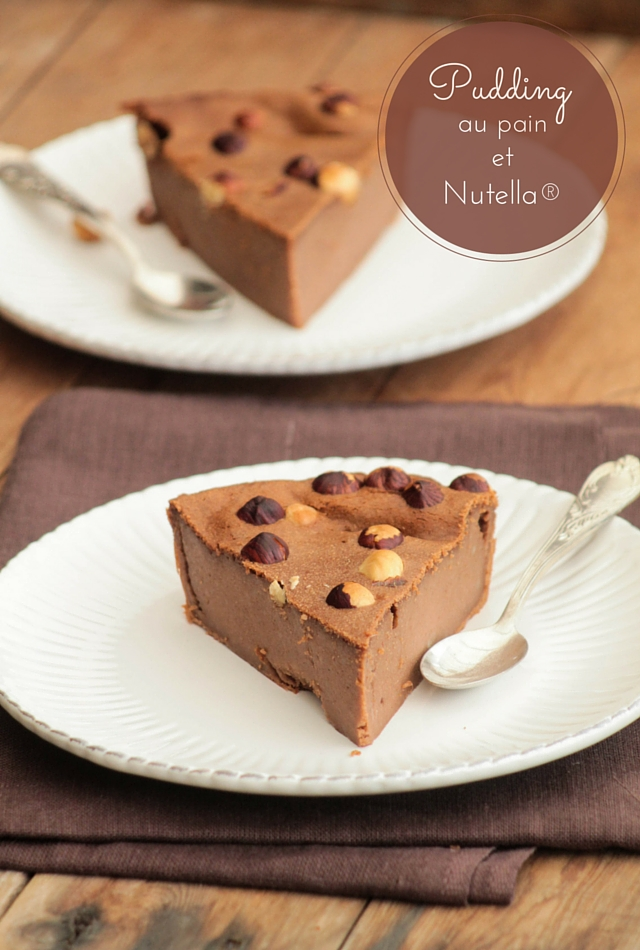 Pudding au pain et Nutella® - ©www.cuisinedetouslesjours.com