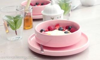 Laitage et fruits rouges - ©www.cuisinedetouslesjours.com