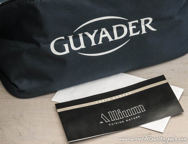Merci à la marque Guyader - ©www.cuisinedetouslesjours.com