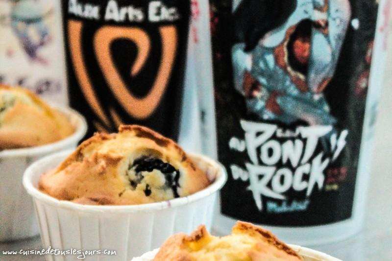 Muffins aux myrtilles - ©www.cuisinedetouslesjours.com