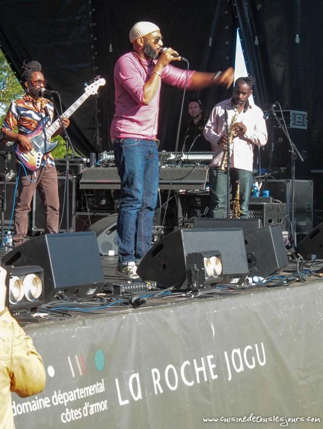 Anthony Joseph - Concert du 14 juillet 2016 à La Roche Jagu - ©www.cuisinedetouslesjours.com