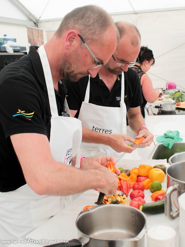 Joutes Culinaires - Terres et Mers de Bretagne - Brest 2016 - ©www.cuisinedetouslesjours.com