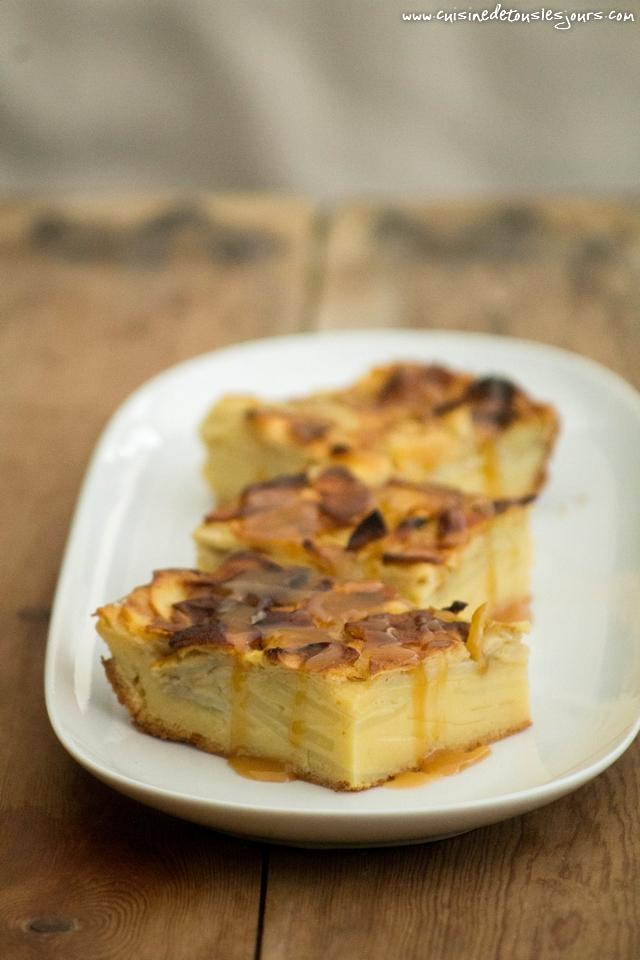 Gâteau aux 2 pommes - - Démo culinaire - Ohhh La Vache ! 2016 - Pontivy - ©www.cuisinedetouslesjours.com