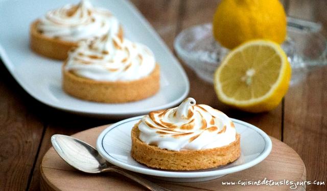 Fine équipe et tarte au citron – ©www.cuisinedetouslesjours.com