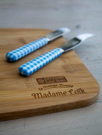 Jeu Concours sur le blog, participez pour tenter de gagner un joli lot pour réveiller votre plateau de fromage grâce à Madame Loïk – photo : ©www.cuisinedetouslesjours.com