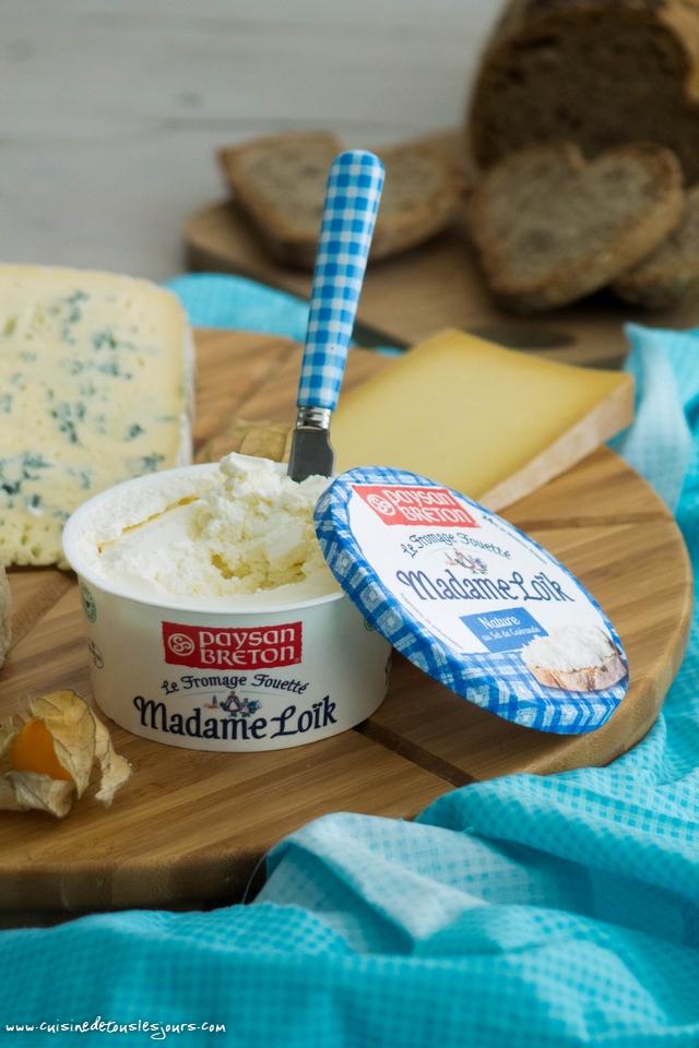 Fromage Fouetté Madame Loïk - photo : ©www.cuisinedetouslesjours.com