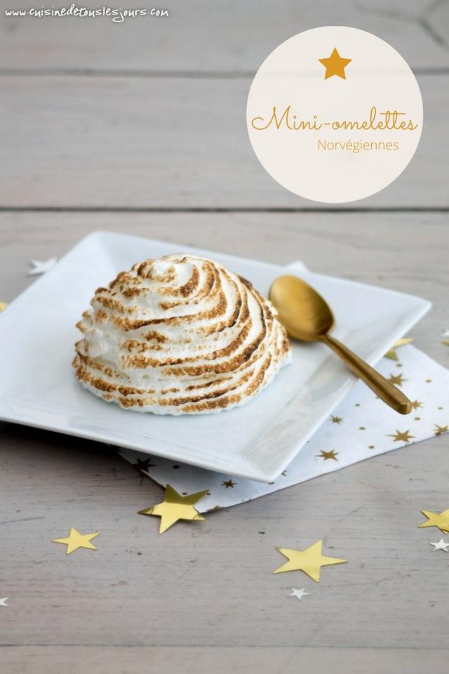 Mini omelettes norvégiennes - Réalisation avec le moule dômes Tupperware - ©www.cuisinedetouslesjours.com