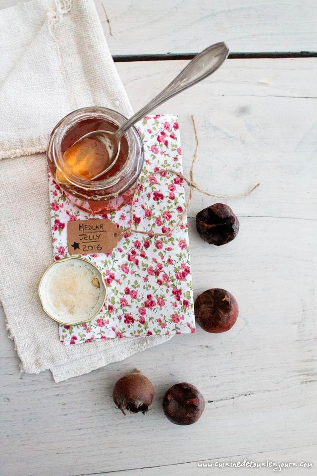 Gelée de nèfles - ©www.cuisinedetouslesjours.com