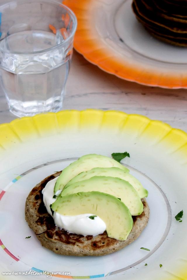 Galettes de blé noir et pomme de terre au cumin - ©www.cuisinedetouslesjours.com