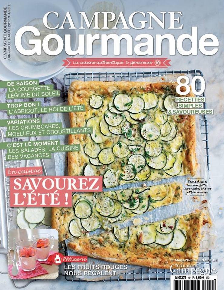 N°10 de Campagne Gourmande - Juin, Juillet et Août 2017