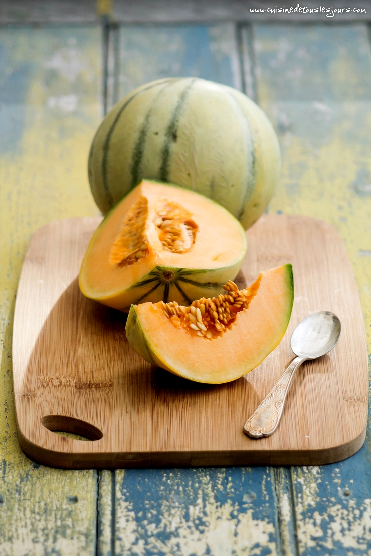 Melon - n°10 de Campagne Gourmande - ©www.cuisinedetouslesjours.com