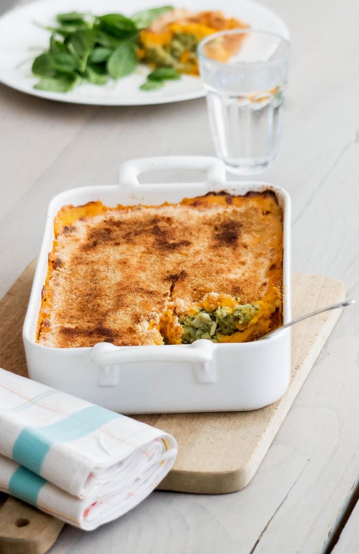 Gratin de lieu noir à la patate douce réalisé avec le blender Vitamix pour Keimling - ©www.cuisinedetouslesjours.com