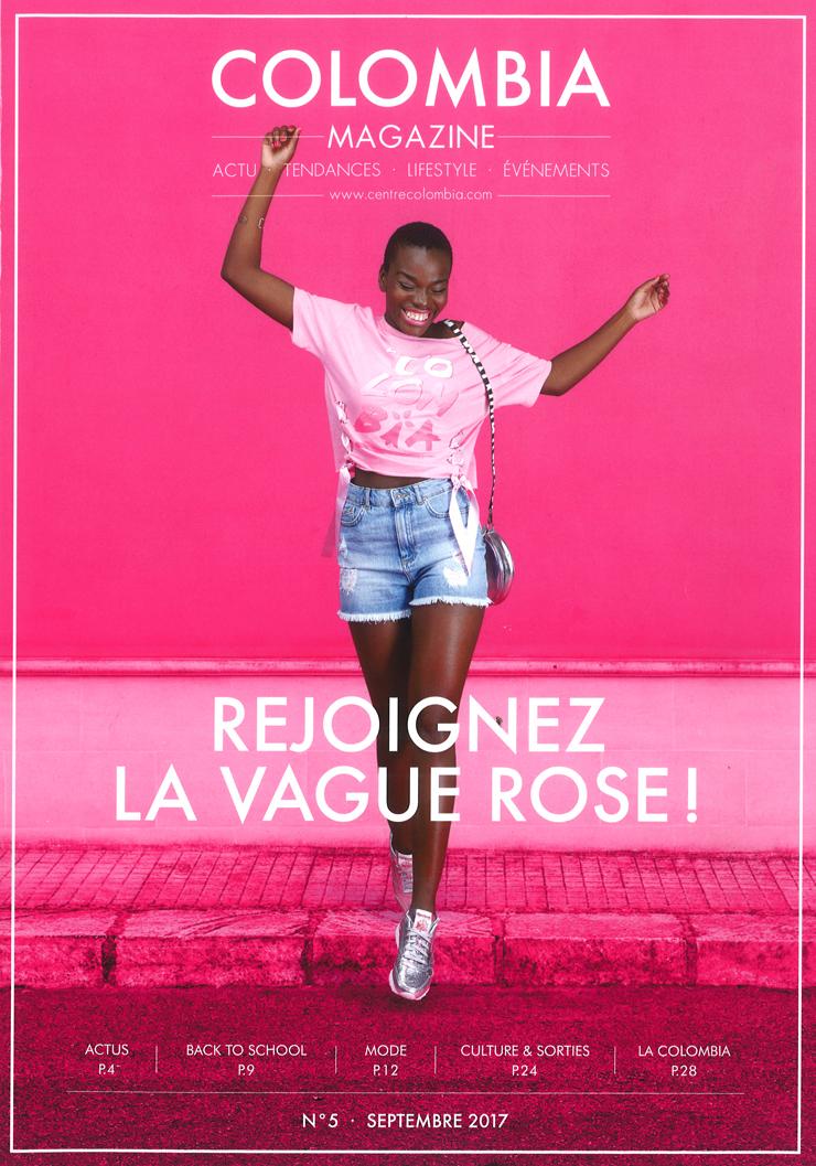 Magazine du centre commercial Colombia de Rennes - Numéro Automne 2017