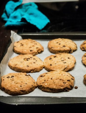 Cookies aux noisettes, amandes et pépites de chocolat-1