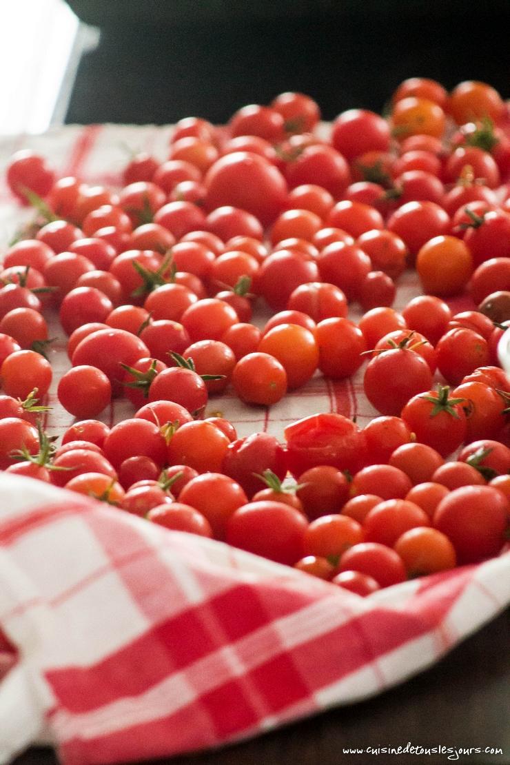 Velouté de tomates cerises rôties au thym – ©www.cuisinedetouslesjours.com
