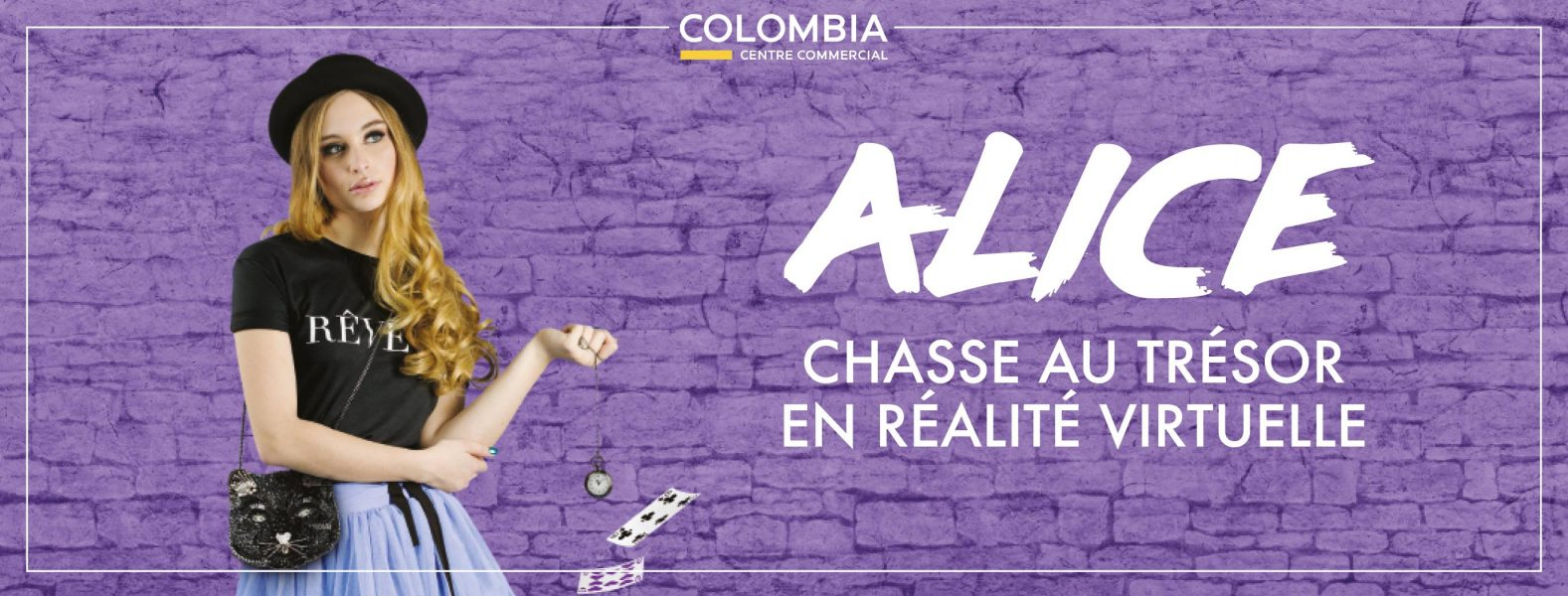 Chasse au trésor en réalité virtuelle, Centre Commercial Colombia, Rennes