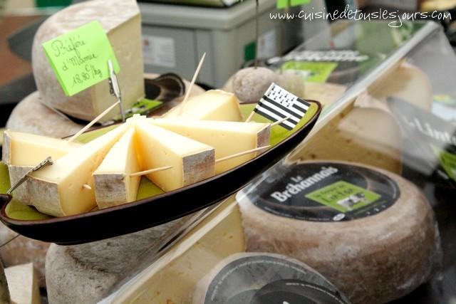 Le Bréhannais, fromage produit par la Ferme de Lintan - Bréhan