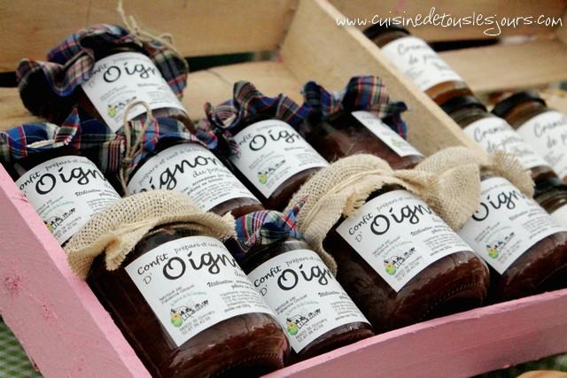 Le confit d'oignon au miel produit par EARL de la Cavalerie - Saint Gonnery