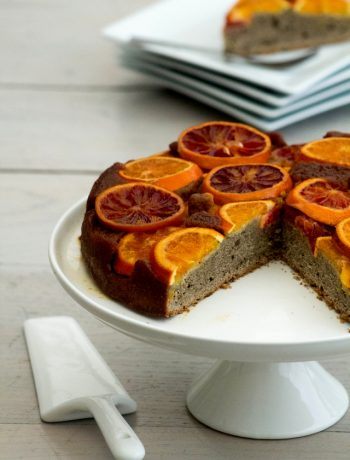 Gâteau renversé au sarrazin et amande à l'orange (7 sur 10)