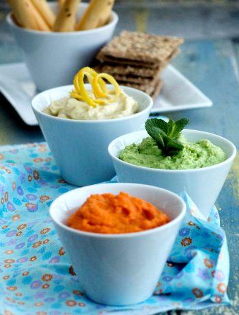 Tartinades de légumes printaniers pour le n°9 de Campagne Gourmande - ©www.cuisinedetouslesjours.com